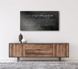Iron Gift, Wedding Song on Iron, 6th Wedding Anniversary Gift for Husband, Song on Metal, First Dance Song Print, 6 Year Anniversary Gift