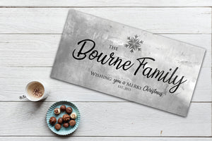 Rustic Holiday Sign, Christmas Sign, Luke 2:14 Sign, Personalized Holiday Sign, Establsihed Sign, Family Sign, Name Sign, Christmas decor