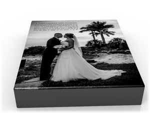 8x10 Words with Photos Canvas - Fine art and canvas personalized anniversary and inspirational gifts
