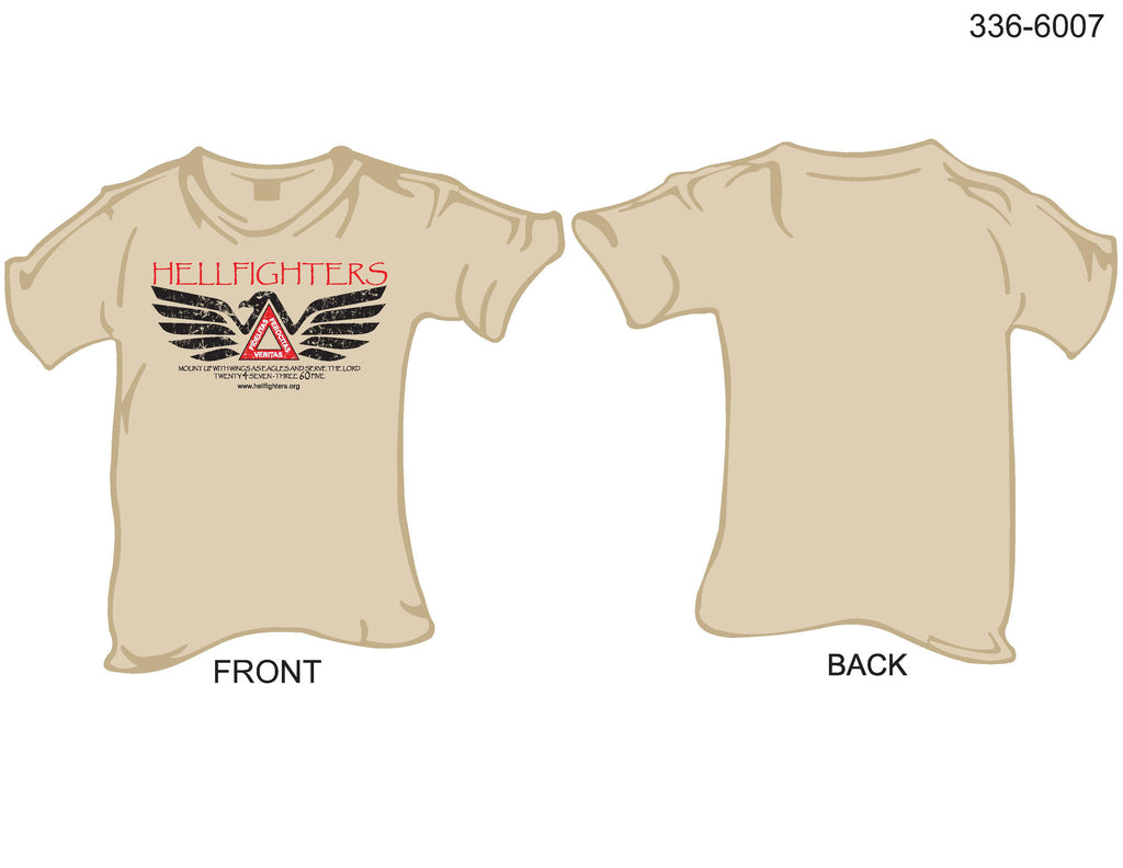 T-Shirt, Short Sleeve, Hellfighters Eagle