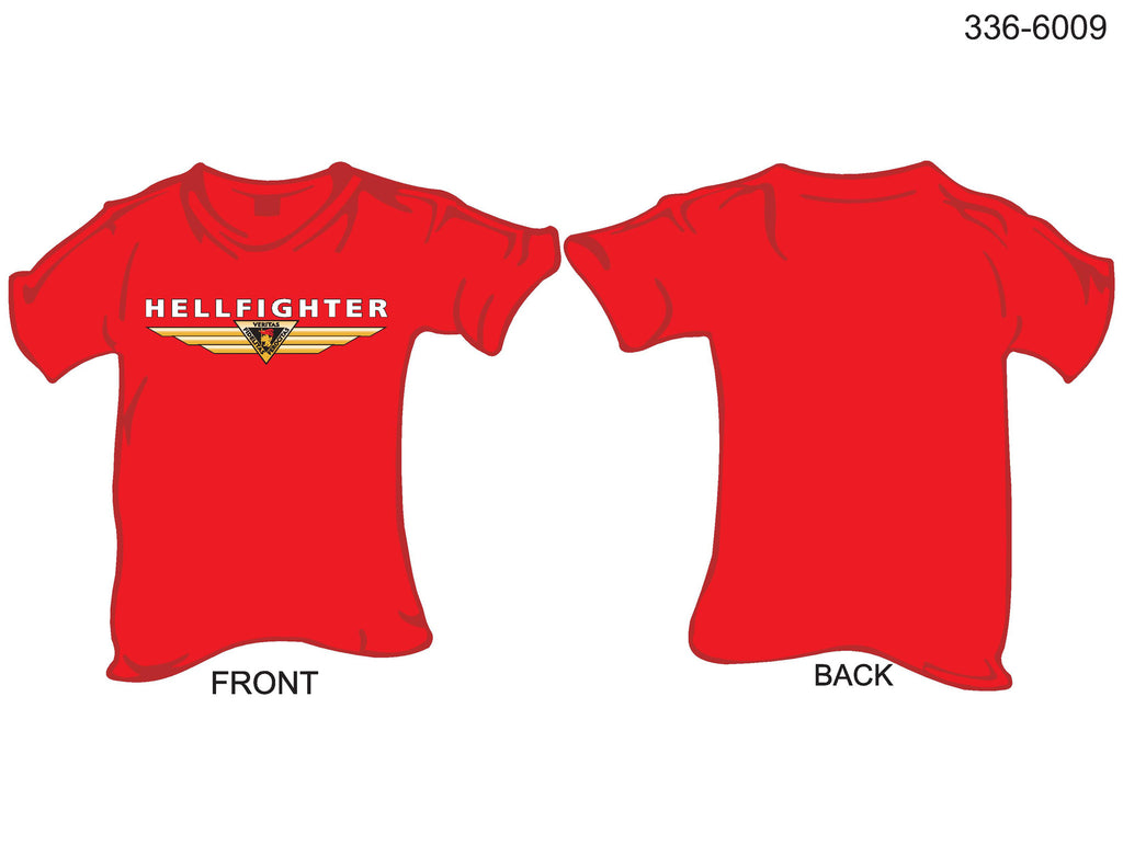 T-Shirt, Short Sleeve, Hellfighters Veritas.