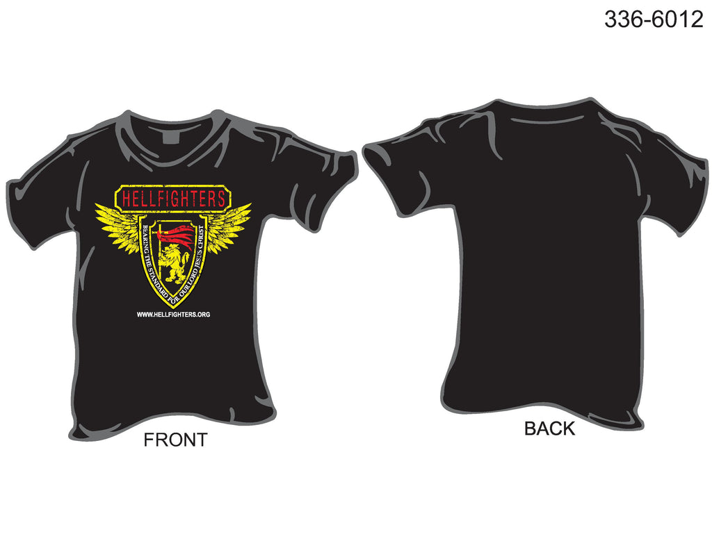 T-Shirt, Short Sleeve, Hellfighters International Logo