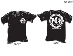 T-Shirt, Short Sleeve, Prisoners of Addiction/POA's