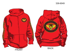 Hoodie, Zip Up, Hellfighters - Supporter (oval)