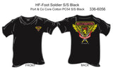 T-Shirt, Short Sleeve, Hellfighter Foot Soldier (black)