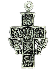Crosses, Antique Silver Cross Wings