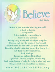 Poem/Pledge, Believe