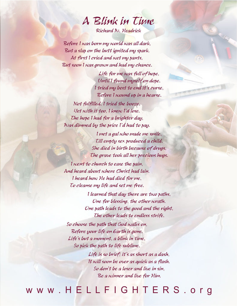 Poem/Pledge, Blink In Time
