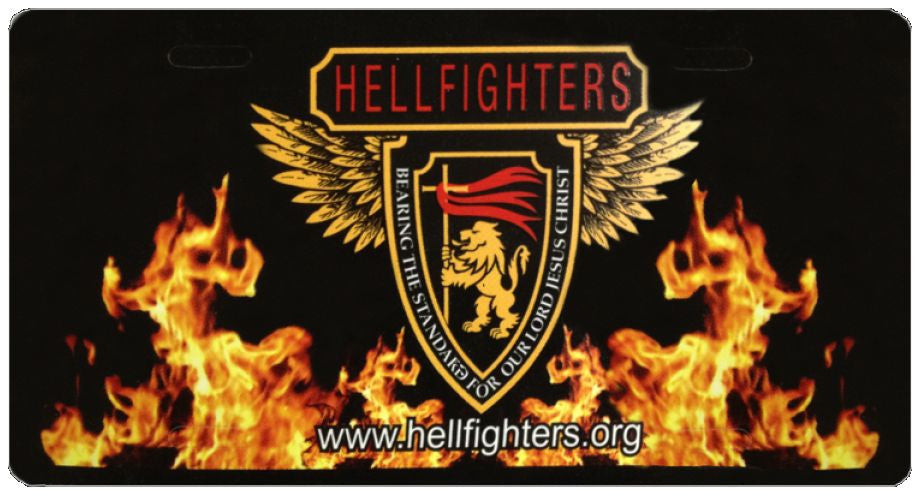 Car Tag, Hellfighters - Shield