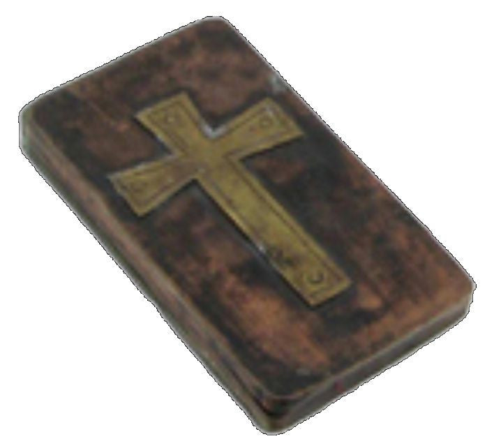 Crosses, Cross Trinket Box - Brass