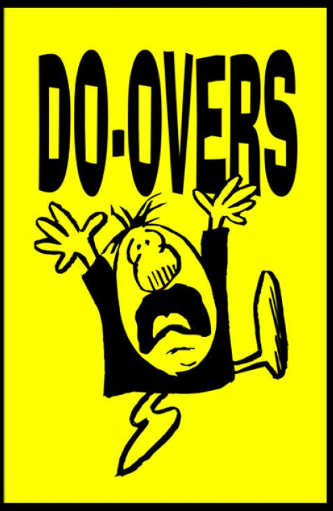 Tracts, Do Overs (Pack of 100)
