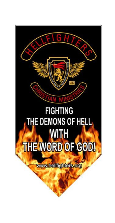 Banner, Fighting The Demons Of Hell With The Word Of God