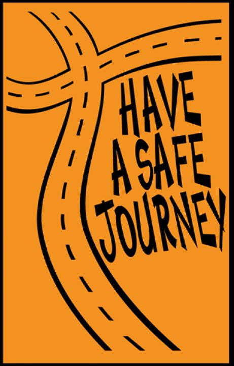 Tracts, Have A Safe Journey (Pack of 100)