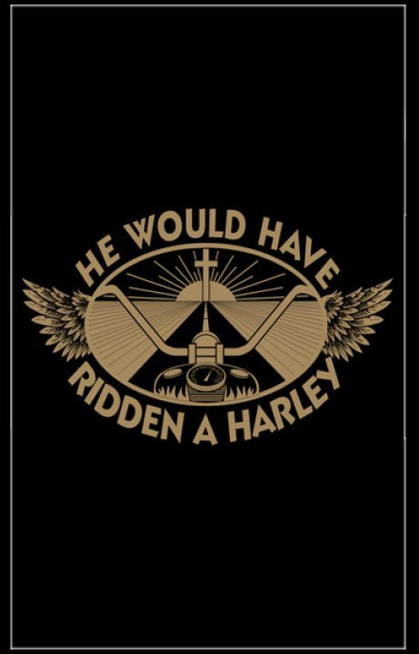 Tracts, He Would Have Ridden A Harley (Pack of 100)