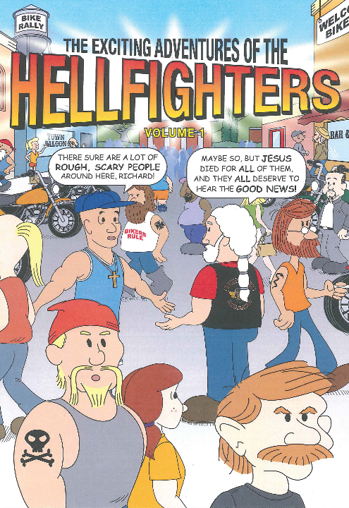 Book, Hellfighters Comic Book (Volume 1)