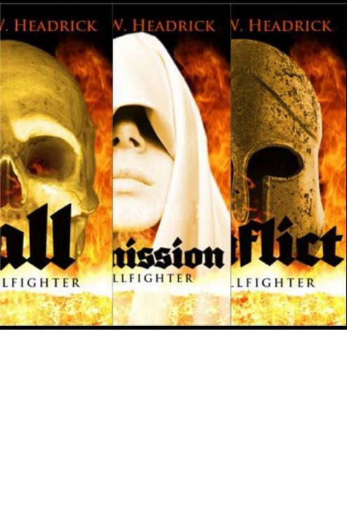 Book, Hellfighters Operations Manuals Set of 3- Call, Commission, & Conflict