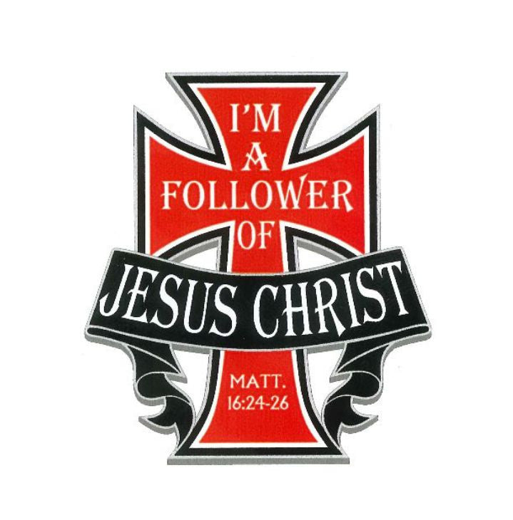 Decal, I'm A Follower Of Jesus Christ