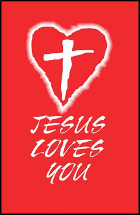 Tracts, Jesus Loves You (Pack of 100)
