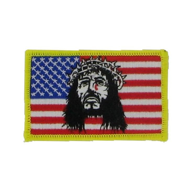 Patch, Jesus Flag