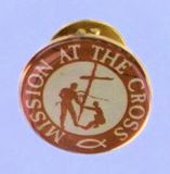 Pin, Mission At The Cross