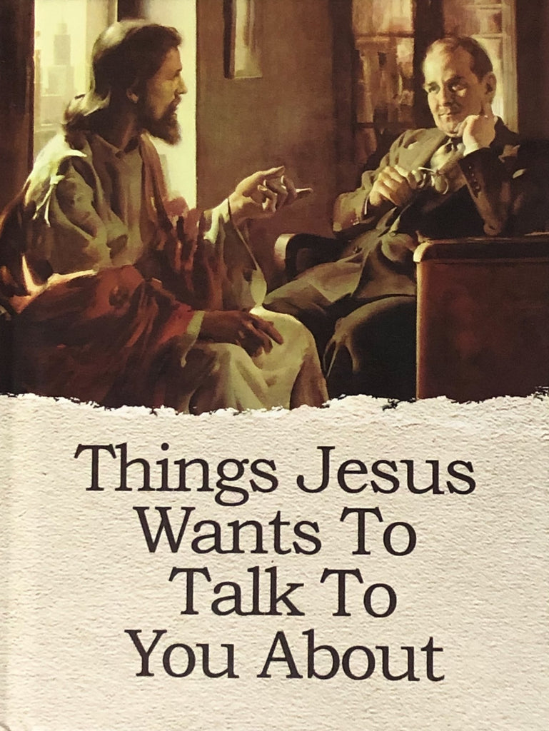 Book, Things Jesus Wants To Talk To You About