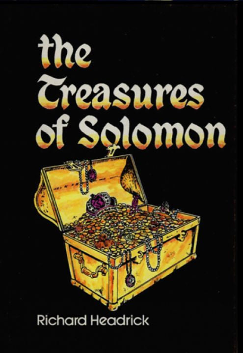 Book, The Treasures of Solomon (Hard Cover)