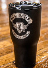Cup, RTIC 30oz, Hellfighters - 3pc (black)