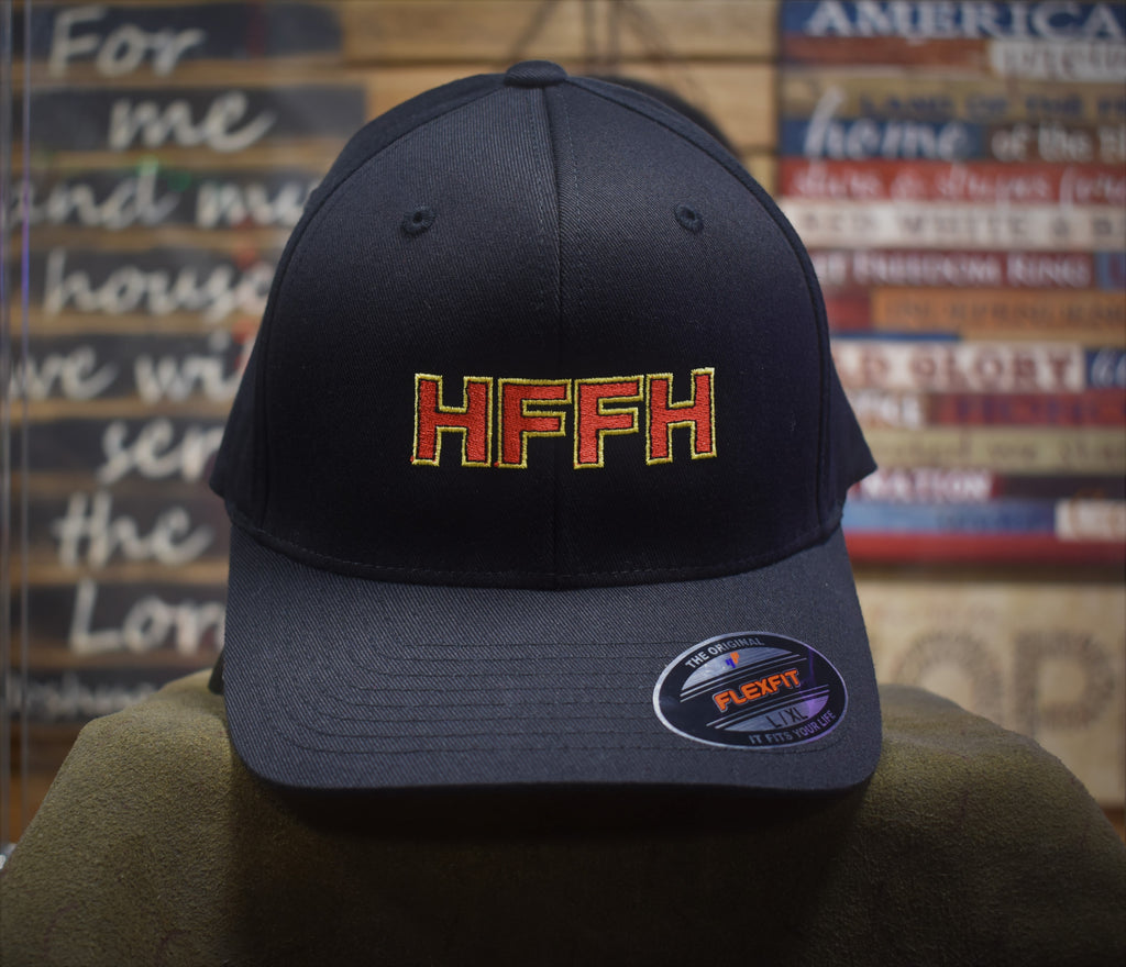 Cap, HFFH - Embroidered (black)