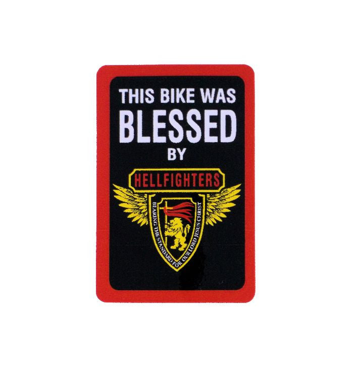 Decal, Bike Blessing