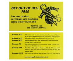 Cards, Get Out Of Hell Free Card (Pack of 100)