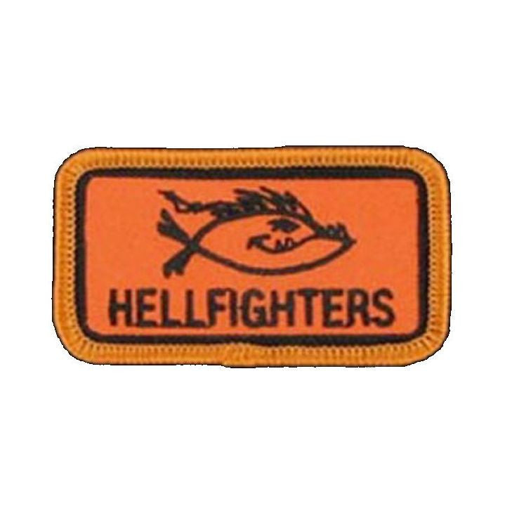 Patch, Hellfighters - Fish w/Ponytail