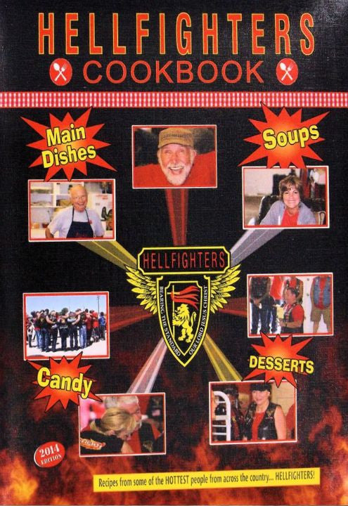 Book, Hellfighters Cook Book (Three Ring Binder)