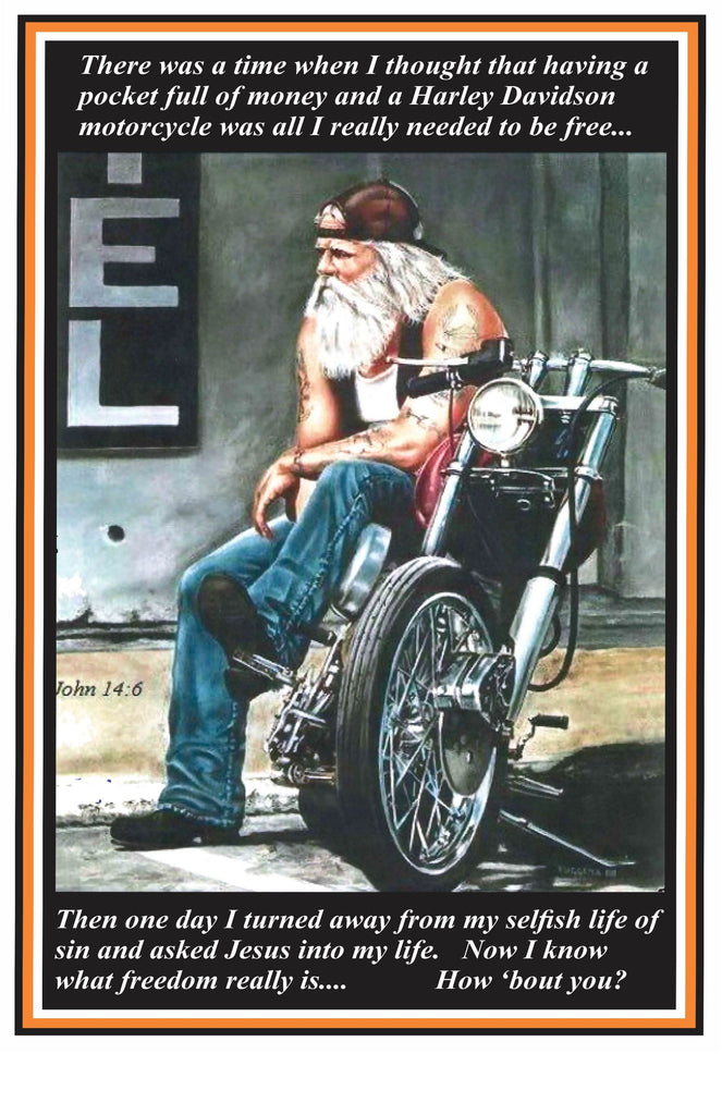 Poster, There Was A Time Biker