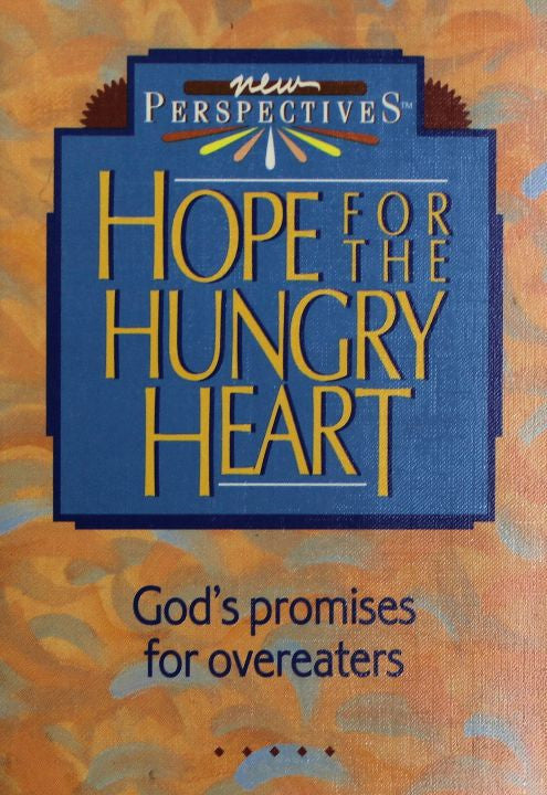 Book, Hope For The Hungry Heart