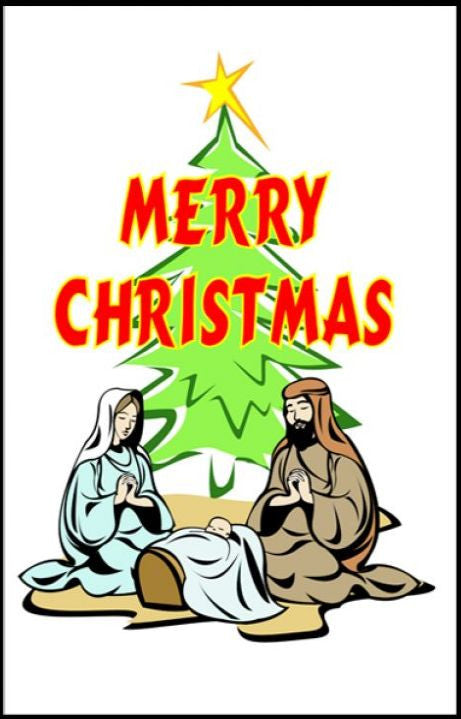 Tracts, Merry Christmas (Pack of 100)