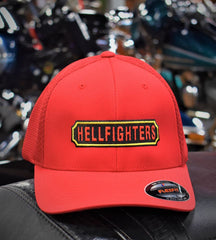 Cap, Hellfighters - Embroidered (red)