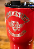 Cup, RTIC 30oz, Hellfighters - 3pc (red)