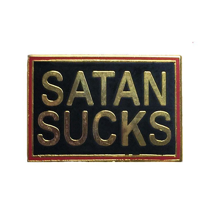 Pin, Satan Sucks