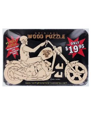 Toy, Hellfighters Bike Puzzle