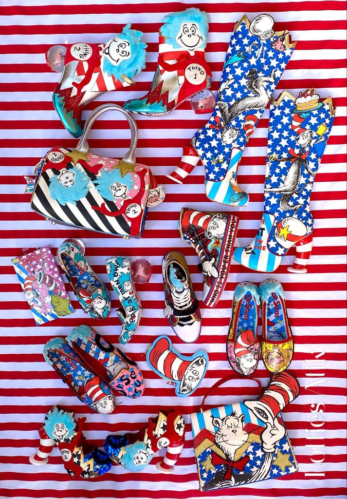 Cat in the Hat x Irregular Choice - Sizing Advice