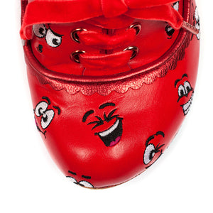 Silly Faces Red *online exclusive*