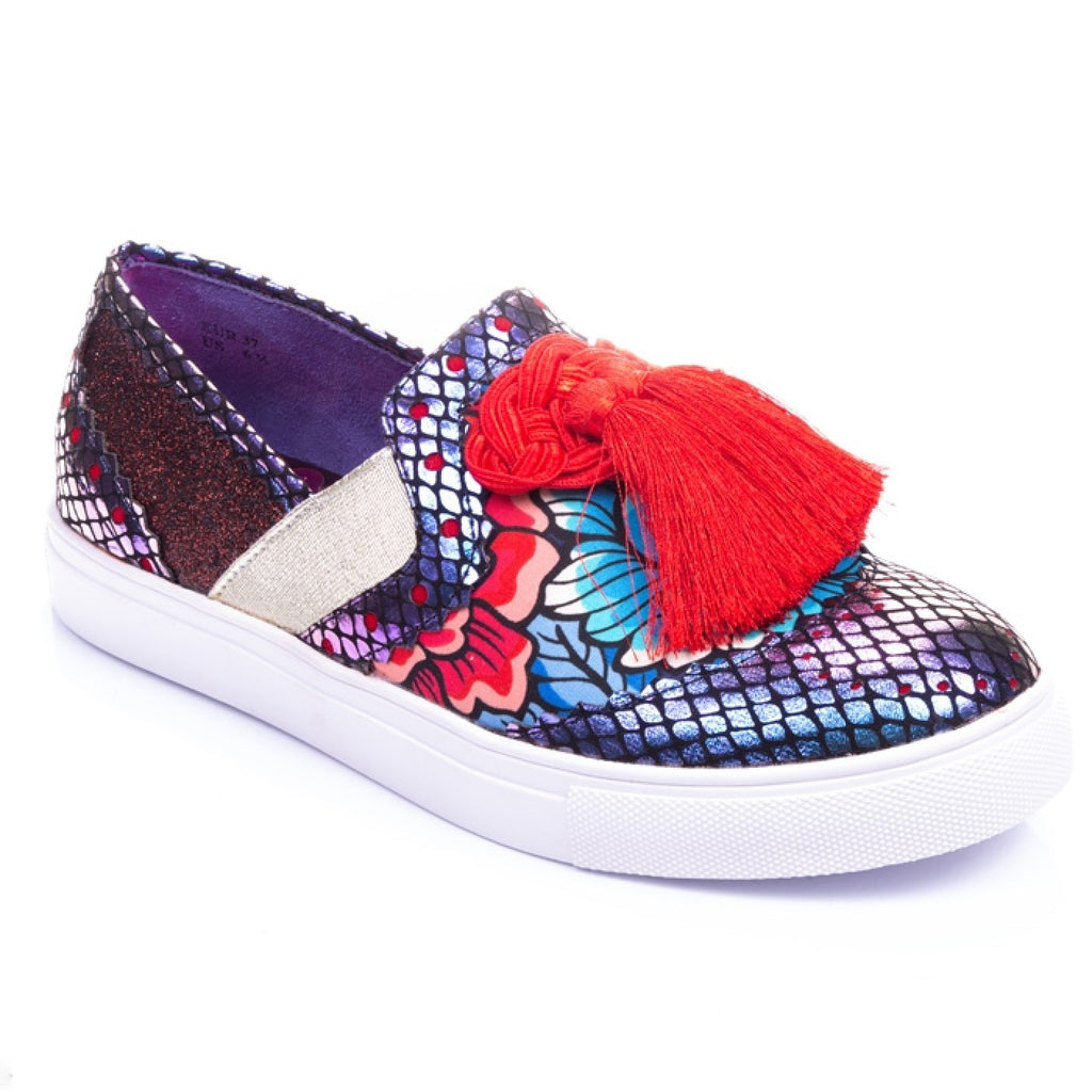 Dazzle Tassel Red/Blue