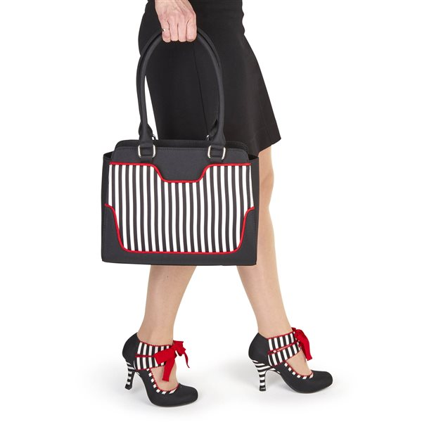 Aisha Black Stripe