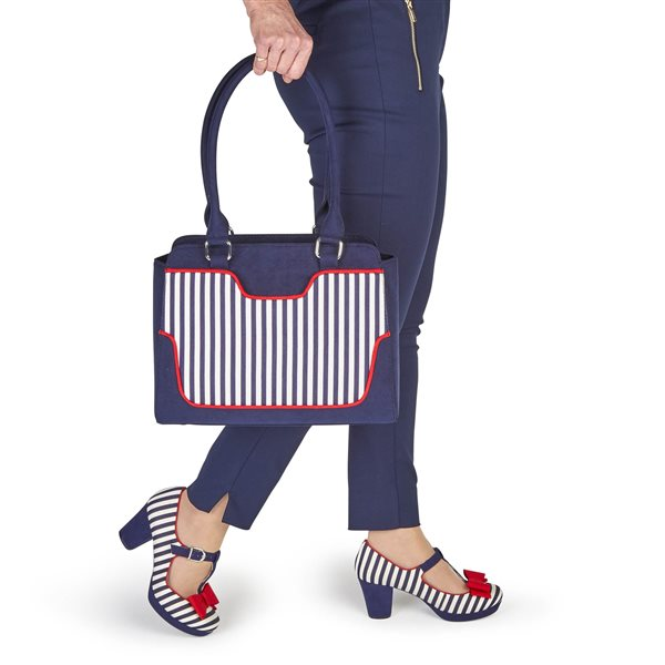 Jazz Navy Stripe