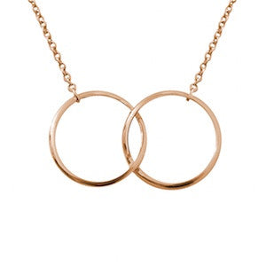 Double kismet necklace