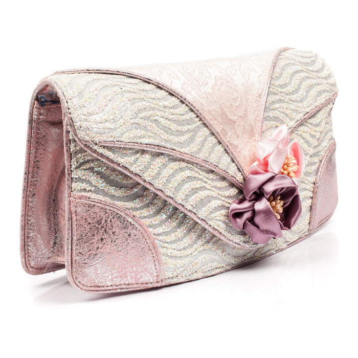 Peach Melba Clutch