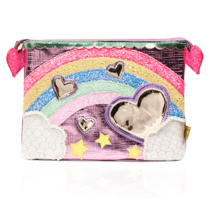Over The Rainbow Pouch Pink