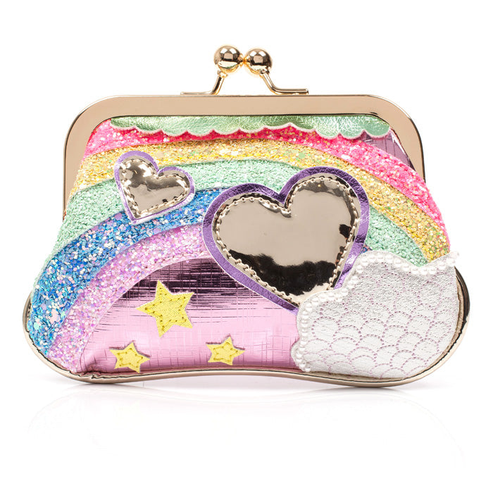 Over the Rainbow Pink Purse