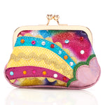Rainbow Splash Purse Pink