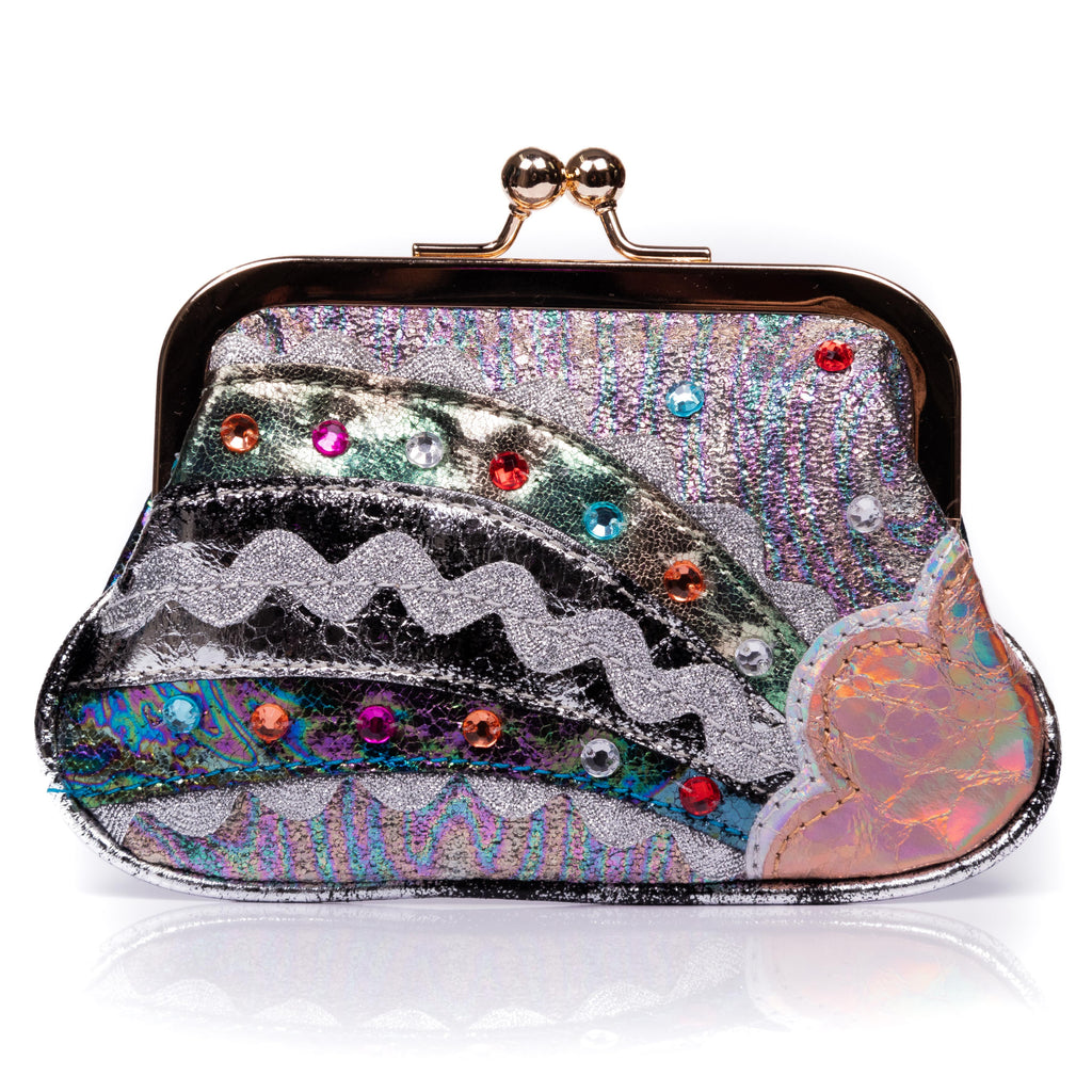 Rainbow Splash Purse Black